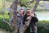 Oliver Feicht mit Wilfried Scheutz